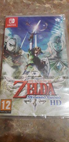 Jogo the legend of Zelda Skyward Sword.
