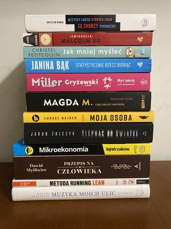 Popularne książki do sprzedania - atrakcyjna cena :)