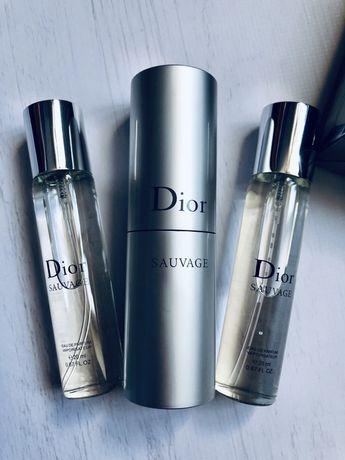 Диор саваж ОРИГИНАЛ 20ml travel set 1 штука Dior Sauvage, мужские духи