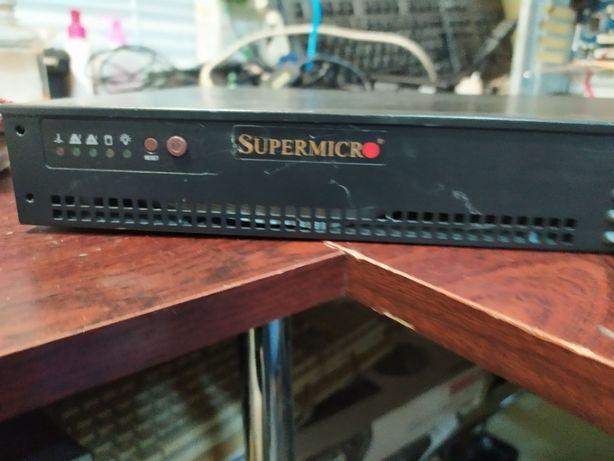 Системный блок 2 ядра SUPER MICRO с Европы!