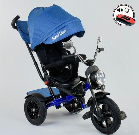 Детский трёхколёсный велосипед Chopper, Поворот сиденья, надувные кол