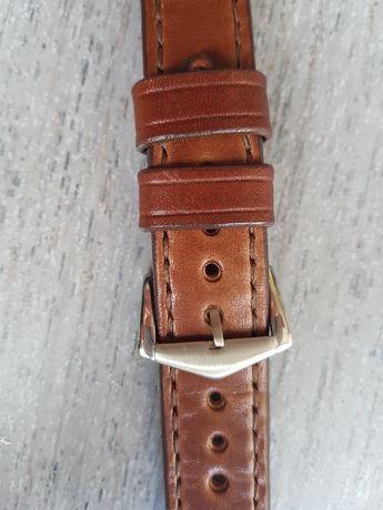 Skórzany pasek zegarka 19 mm skóra naturalna