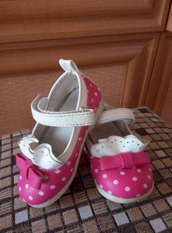 Красивые детские туфельки, рр22
