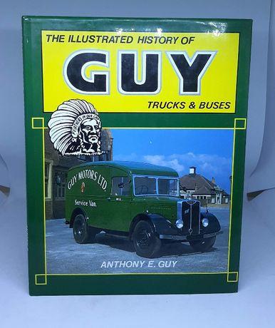 Książka/Album 'History of GUY trucks & buses'' historia firmy GUY