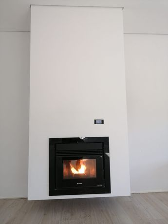 Recuperador de calor a pellet's La-Una 14kw