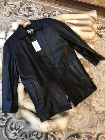 Мужское кожаное пальто Турция