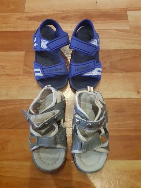 Sandałki i trampki