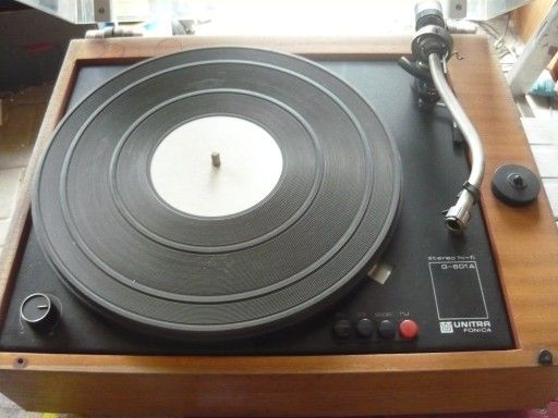 wyposażenie Gramofon Unitra Fonica G 601a g601 Micro-Seiki części
