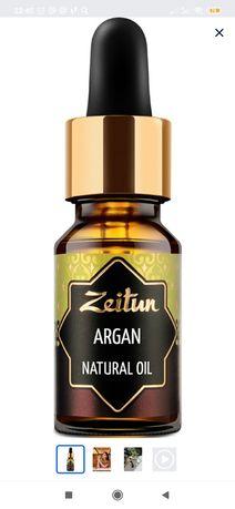 Zeitun Аргановое масло для волос, тела и лица, первый холодный отжим