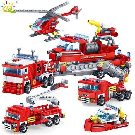 Продам новый детский конструктор LEGO, серия пожаротушения 348 шт.