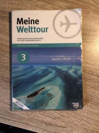 Meine Weltour 3 podręcznik + CD