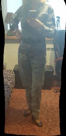 Kombinezon dżinsowy jeans 38