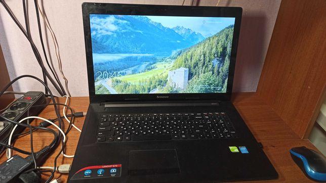 """Продам ноутбук 17"""" Lenovo G70-80 в отличном состоянии."""