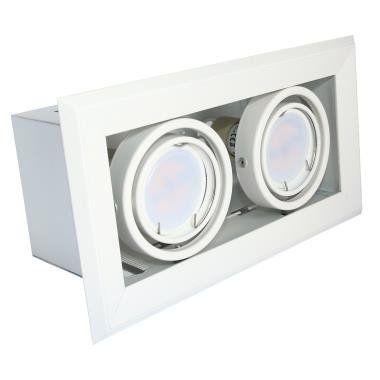 Milagro Lampa podtynkowa BLOCCO 473 2x7W LED 2 szt.