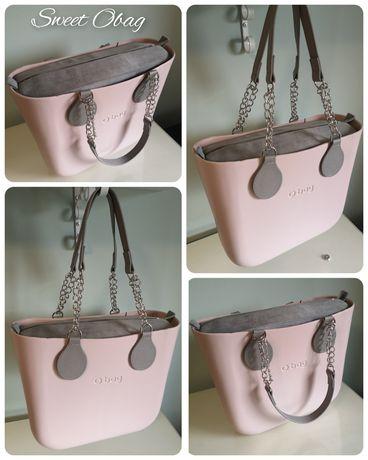 Nowy zestaw torebka Obag MINI Body kolor Rosa Smoke O bag