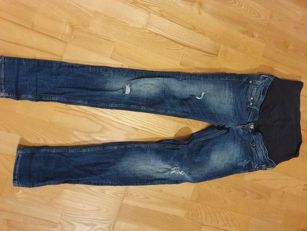 Spodnie ciążowe H&M Mama super skinny 38