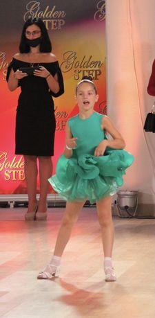 Платье бальные танцы бейсик латина рейтинговое 2 юбки