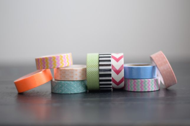 Washi Tape — Fita adesiva Japonesa