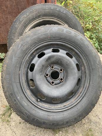 Продам диски R15 5/100 з гумою.