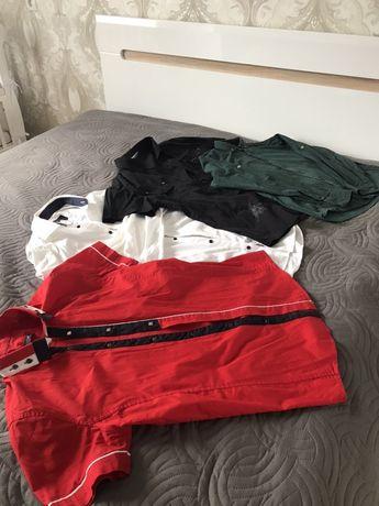 Чоловічі сорочки 5 шт в пакеті