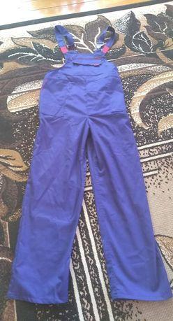 Spodnie robocze na szelkach, ogrodniczki