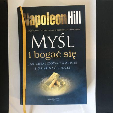 Książka Napoleon Hill, Myśl i bogać się