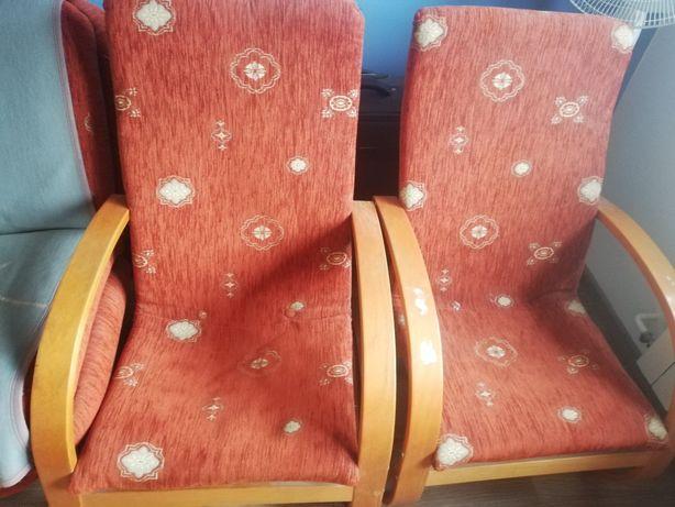 Fotele 2 sztuki w dobrym stanie