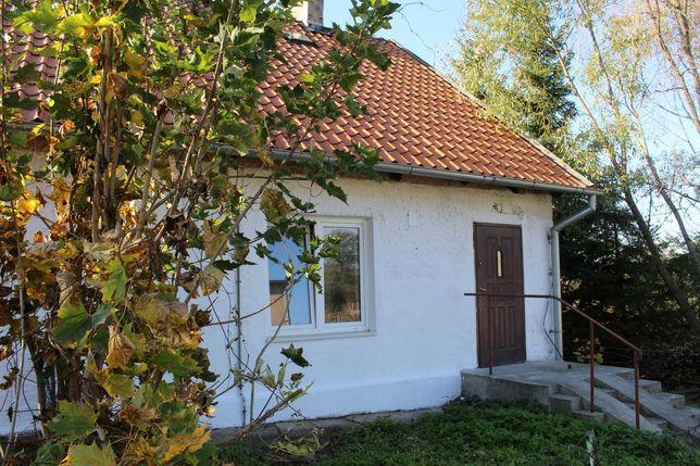 Zadbany, wiejski, murowany domek z działką nad siedliskiem bobrów