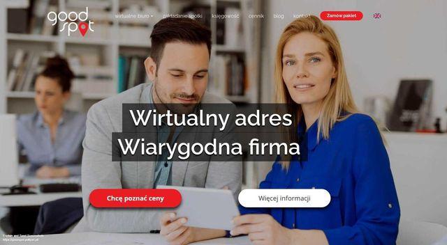 Good Spot wirtualne biuro, wirtualny adres, rejestracja firmy