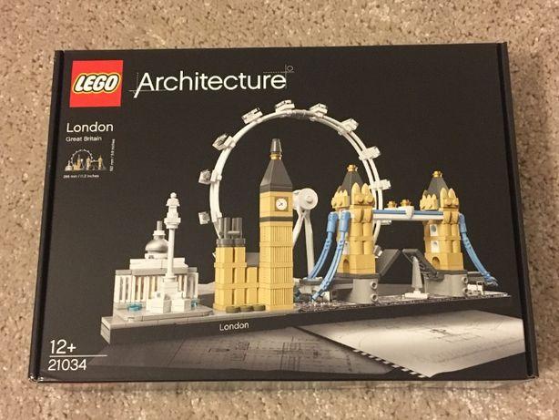 LEGO Architecture 21034 Londyn - nowy, oryginalnie zaplombowany