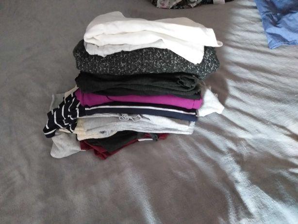 Ubrania ciążowe bluzki swetry koszulki M-L