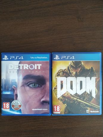 Gry PS4.   Doom. Detroit