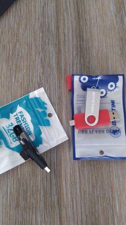 BIYETIMI micro usb-USB 64 за 100 і плюс  tipe-C KINGSTICK 32 gb 75