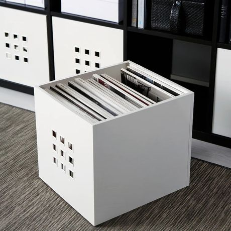 Caixas ikea x8 Lekman para Moveis Ikea kallax