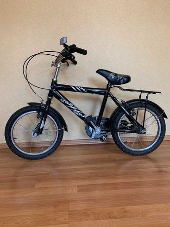 Велосипед детский на 4-7 лет