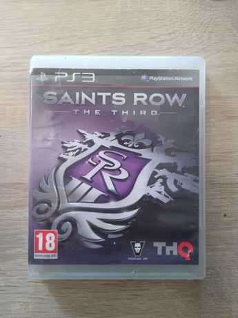 Saints row the third PS3 dobry stan