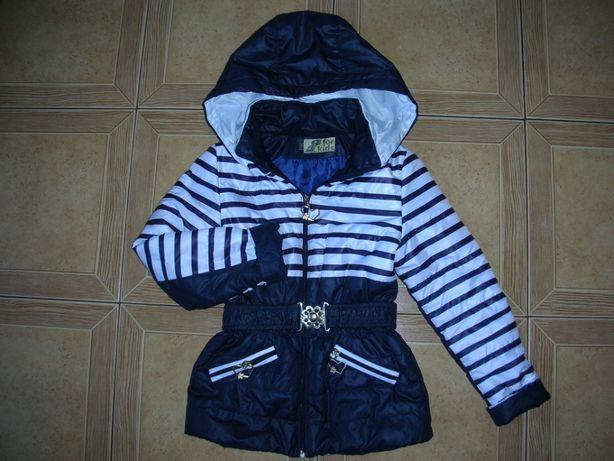 Демисезонная куртка р. 116.