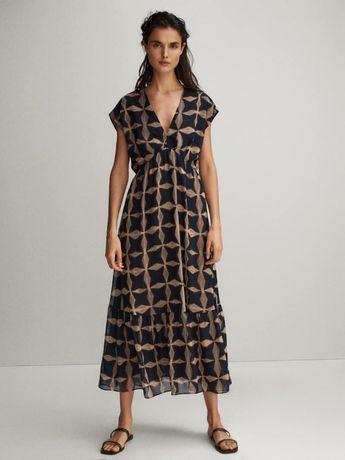 Платье женское massimo dutti