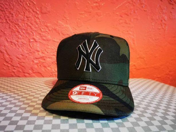 New York Yankees NY MLB Woodland New Era 9FIFTY Snapback
