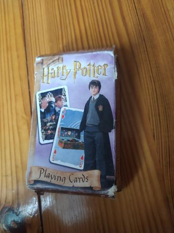 Harry Potter karty do gry kompletna talia 55 kart