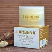 Антивозрастной крем для лица Lanbena Peptide Wrinkle Facial Cream
