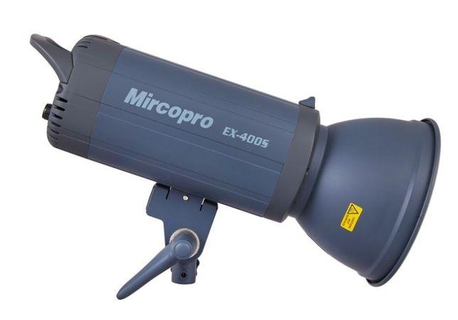 Продам студийный свет Micropro EX-400S (400дж) с рефлектором