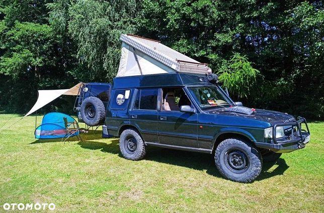 Land Rover Discovery Namiot dachowy, blokady ARB, gotowy pod wyprawy, zadbany, camper 4x4