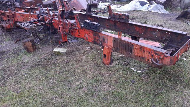 Рама трактора Т150К колесного в сборе передняя и задняя с шарниром