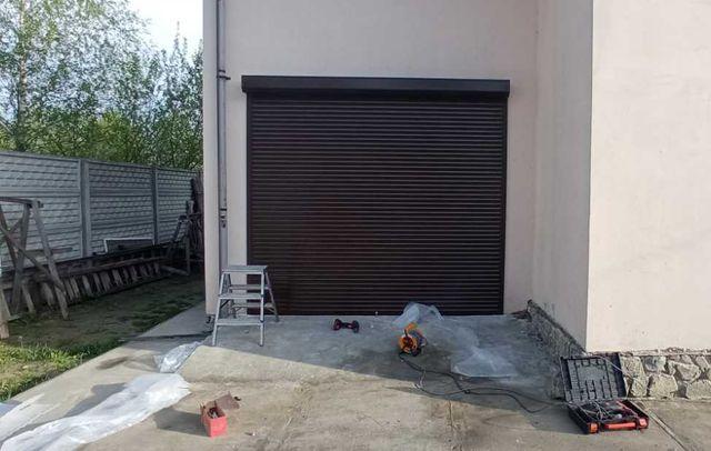 Защитные ролеты, роллетные ворота на гараж. Монтаж роллет, рольставней