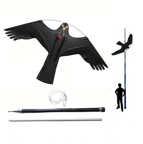 Odstraszacz Ptaków Latawiec Jastrząb CH2  - Maszt 5 metrów - Palik