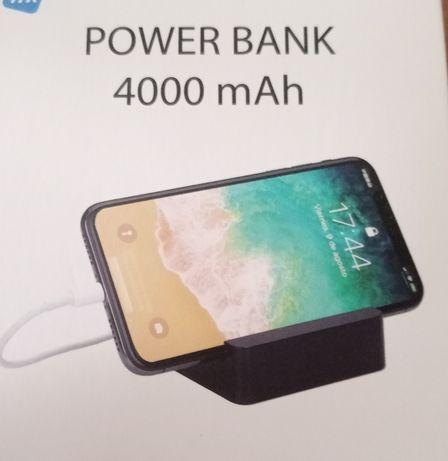 Powerbank NOVO com base para telefone.