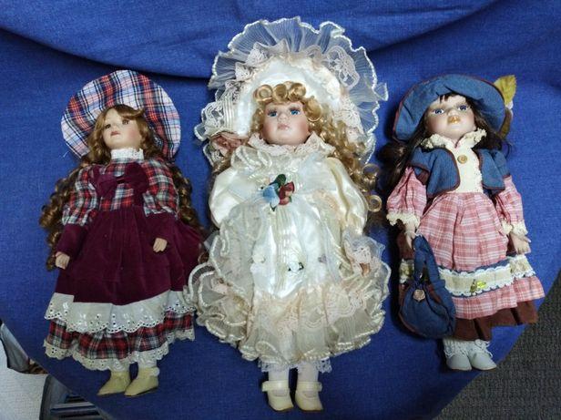 Bonecas de porcelana antigas. Lote, preço especial.