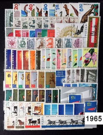 Znaczki pocztowe Rocznik1965czysty,pelny