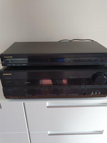 Kino domowe Amplituner HT- R518+Odtwarzacz DV-SP406+Głośniki Taga TAV